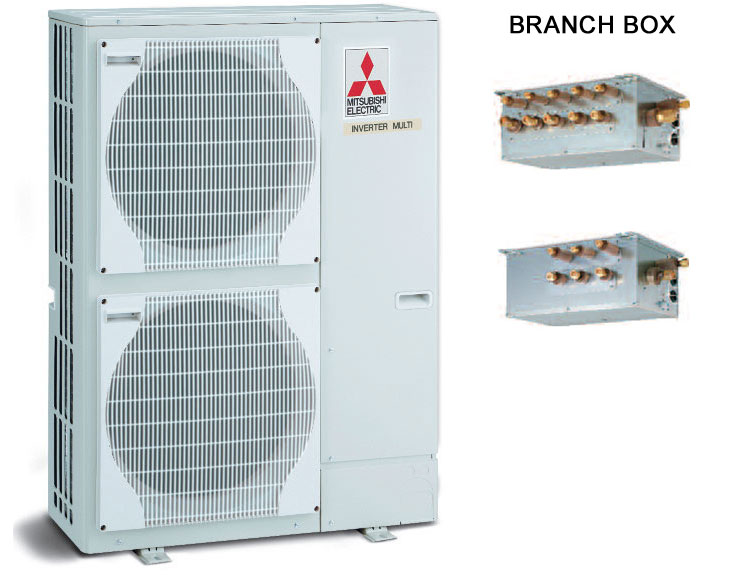 Multisplit mitsubishi electric mxz 8b140va for Climatizzatori multisplit